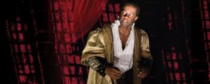 Adrian Lester as Ira Aldridge's Moor