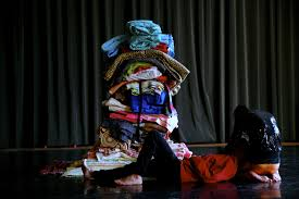 A blanket tower