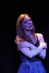 Sierra Tothero as Desdemona (Photo Queens Gazette)