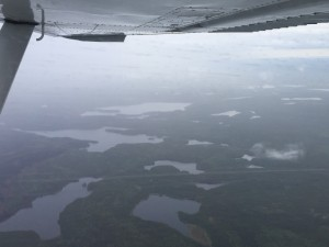 The Churchill River from above