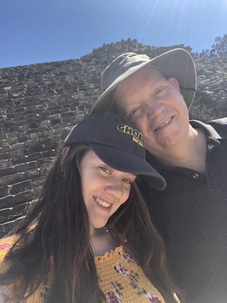 With Olivia at Monte Alban 7dab4fdfc7fa